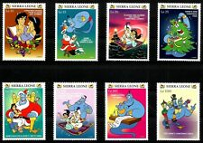 DISNEY STAMPS, SIERRA LEONE, CHRISTMAS, COMPLETE SET, YEAR 1997, MNH, LOT 55