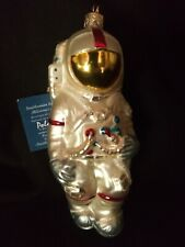 Kurt Adler Polonaise Ornament - Smithsoian Institute - Astronaut - Nwt