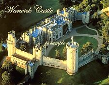 England - WARWICK CASTLE - Travel Souvenir Fridge Magnet