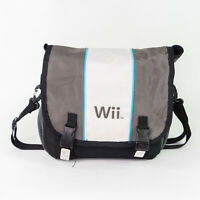Nintendo Wii Carrying Case Messenger Travel Bag With Strap Authentic Mario