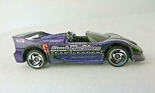 Mattel Hot Wheels Stunt Machines Ferrari F50 Spider Purple 1996 India  #0796