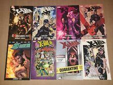 Lot of 8 Marvel Uncanny X-Men Graphic Novel Trade Paperbacks TPB 2099 The End