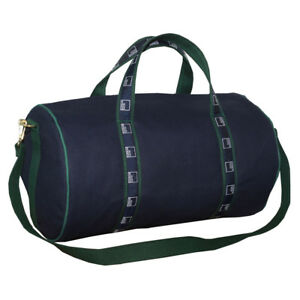 "NEW Authentic 21"" Goldman Sachs Duffle Banker Bag - Navy/Hunter Green"