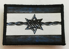 Israel Flag Patch Tactical Military Army Badge Hook Flag USA Mossad