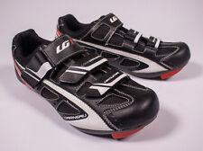 Louis Garneau Cycling Shoes Ventilator Ergo Air Black Red Size 8.5