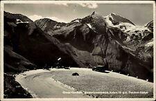 1941 Stempel Salzburg AK Feldpostkarte Briefstempel Gross-Glockner Auto Strasse