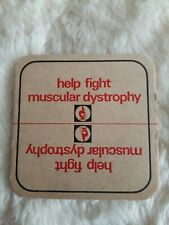 HELP FIGHT MUSCULAR DYSTROPHY BEER MAT