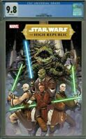 STAR WARS THE HIGH REPUBLIC #1 (2020,MARVEL) ANINDITO COVER B CGC 9.8 PREORDER