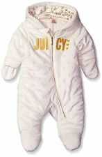 Juicy Couture 3-6M Baby Girl Toddler Embossed Silky Sherpa Hoody Pram R112516