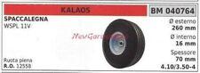 Roue KALAOS Fendeuse à Bois Wspl 11V 040764