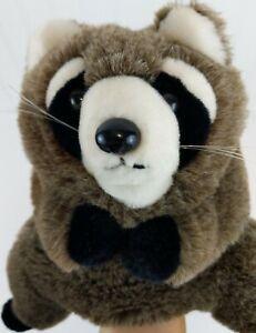 "VINTAGE 18"" 80s 1983 Dakin Raccoon Hand Puppet Plush Full Body Stuffed Animal"