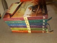 LOT OF 6 ANNIE'S ATTIC MYSTERIES  HARDBACK BOOKS WITH DUST JACKET,