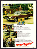 1968 Dodge Coronet 500 Station Wagon photo Self-Cleaning Window vintage print ad