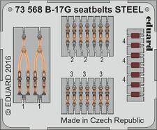 Eduard PE 73568 1/72 Boeing B-17G Flying Fortress seatbelts STEEL Airfix C