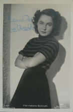 Hannelore Schroth (1922-1987) Schauspielerin - original-signiertes Foto