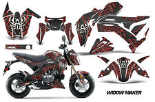 AMR Racing Kawasaki Z125 PRO Graphic Kit Dirt Bike Decals MX Wrap 2017 WIDOW RED