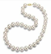 6mm 18inch AAA+ South Sea White luster Pearl Necklace