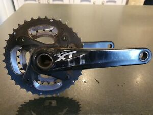 Shimano XT M785 Cranks Black 175mm