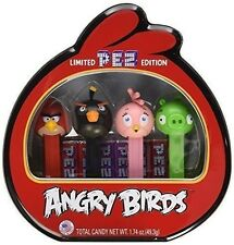 Pez Limited Edition Angry Birds Gift Tin collectible video game app candy