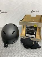 GIRO Ledge Mips Snow Sports Helmet Adult Large #7060401 Matte Black P-22