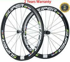 50mm Carbon Wheels Road Bike/Bicycle/Cycle Wheelset 700C Clincher Wheelset Matte
