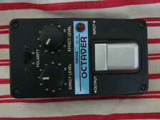 Pédale d'octave YAMAHA OC-01 Japan début 80's