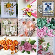 Stanzschablone Blumen Blätter Weihnachten Hochzeit Geburtstag Oster Karte Album
