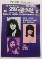 ZIGZAG MAGAZINE - Issue 56 - Vol 6 No 6 - Moody Blues / Emmylou Harris