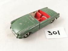 VINTAGE DINKY TOYS # 113 MGB CONVERTIBLE ORIGINAL DIECAST CAR CREAM REPAINTED