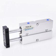TN20X30 20mm x 30mm Double Rod Aluminum Alloy Pneumatic Air Cylinder