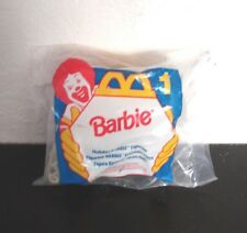 McDonalds-Happy Meal Toy-Holiday Barbie Sleigh  #1-1995-New Sealed