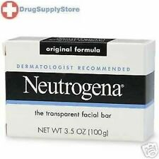 Neutrogena Transparent Facial Bar Original Soap 3.5oz: 5 pack