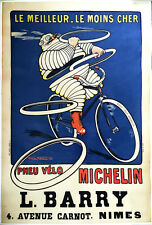 Michelin - Original Vintage Bicycle Poster - Cycling - Roowy - Bibendum