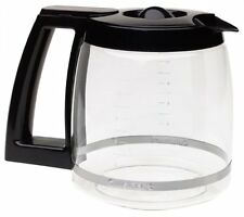 Cuisinart DCC-1200PRC 12 Cup Replacement Glass Carafe Black Coffee Maker Pot New