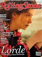 Rolling Stone Jul 2017 Lorde Steven Wilson Chris Cornell L. Subramaniam Donald