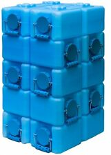 Water Storage Containers Survival Gear Water Brick BPA Free 3.5-gallon (10 pack)