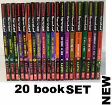 GOOSEBUMPS HORRORLAND COMPLETE SET 1-19+SURVIVAL GUIDE (Lot of 20 )