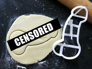 Penis cookie cutter, Mature content cookies, Hen party willy cookies,