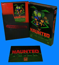 Haunted: Halloween '86 The Curse of Possum Hollow NES Nintendo Game Homebrew CIB