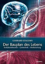 Der Bauplan des Lebens: Evolutionstheorien, Gentechnik, ... | Buch | Zustand gut