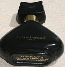 1982 Louis Feraud Paris Fantasque Parfum 5 fl. oz. Avon Products Inc Black Glass
