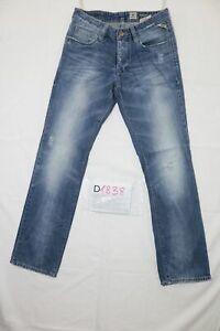 Jack e Jones strappato usato (Cod.D1838) W30 L34 denim jeans dritto