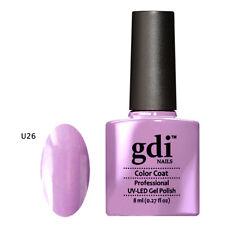 UK SELLER GDi Nails Nude Range UV/LED Soak Off Gel Nail Polish Top Base Coat AAA