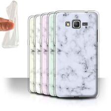 Étuis, housses et coques blanc Pour Samsung Galaxy Grand en silicone, caoutchouc, gel pour téléphone mobile et assistant personnel (PDA)