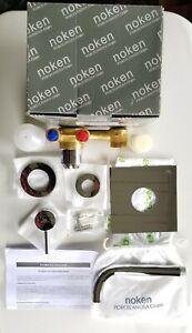 """Porcelanosa Noken"" Single Lever Wall Mounted Chrome Basin Mixer (New)"