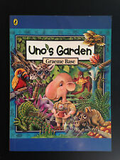 Uno's Garden, By Graeme Base, P/B  GC Mini book c2