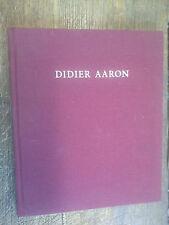 Didier Aaron catalogue tableaux et dessins meubles et objets d'art 1994 / 95