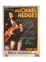 Michael Hedges Poster  Strings Of Steel German Tour Berlin 1988