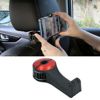 Crochet de dossier de siège de voiture avec support de téléphone pour