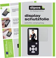 6x Bertronic BC01 Royal MP3-Player Pellicola Protettiva Protezione Schermo opaco